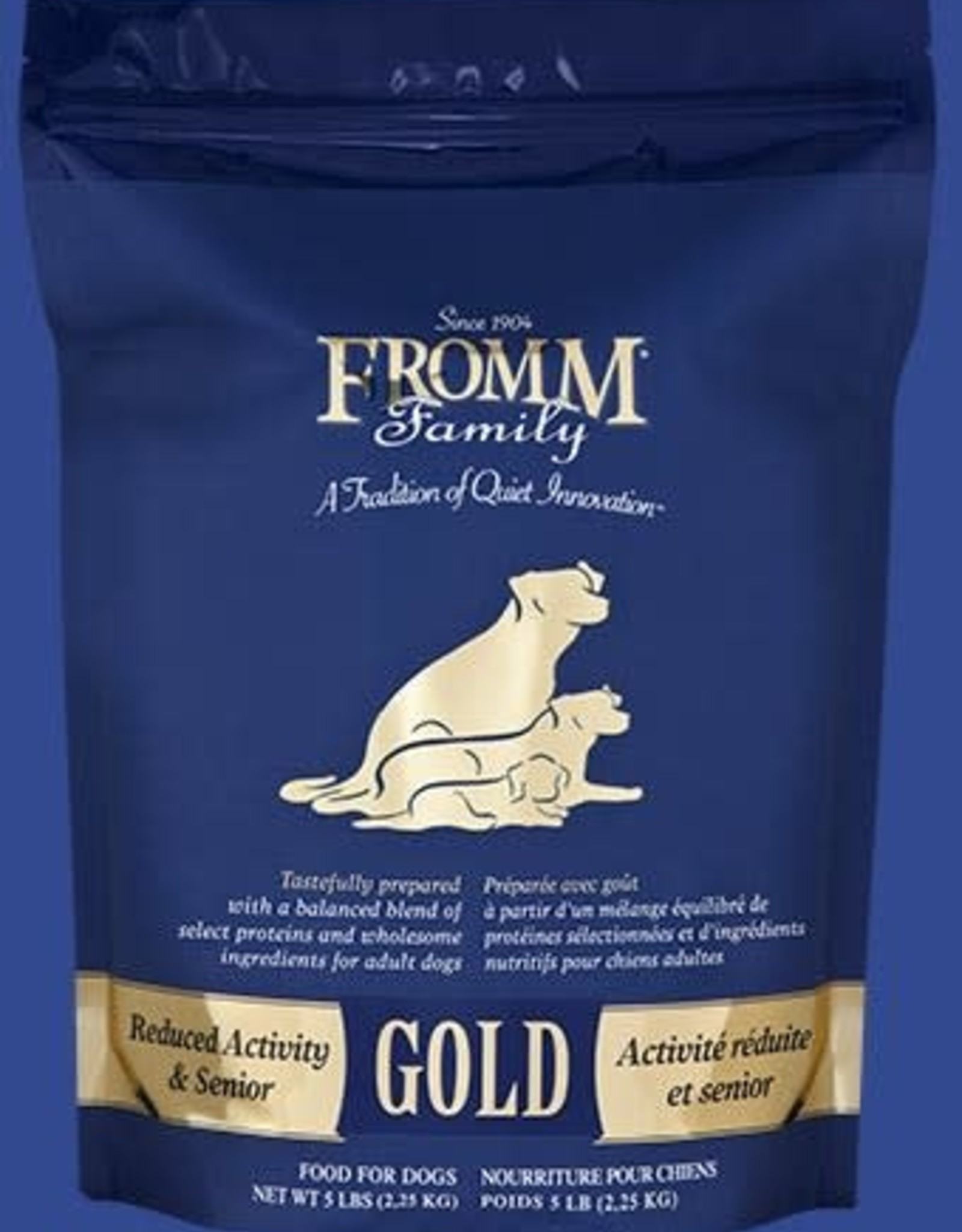 Fromm Dry Dog Food - Gold Reduced Activity & Senior 33LB