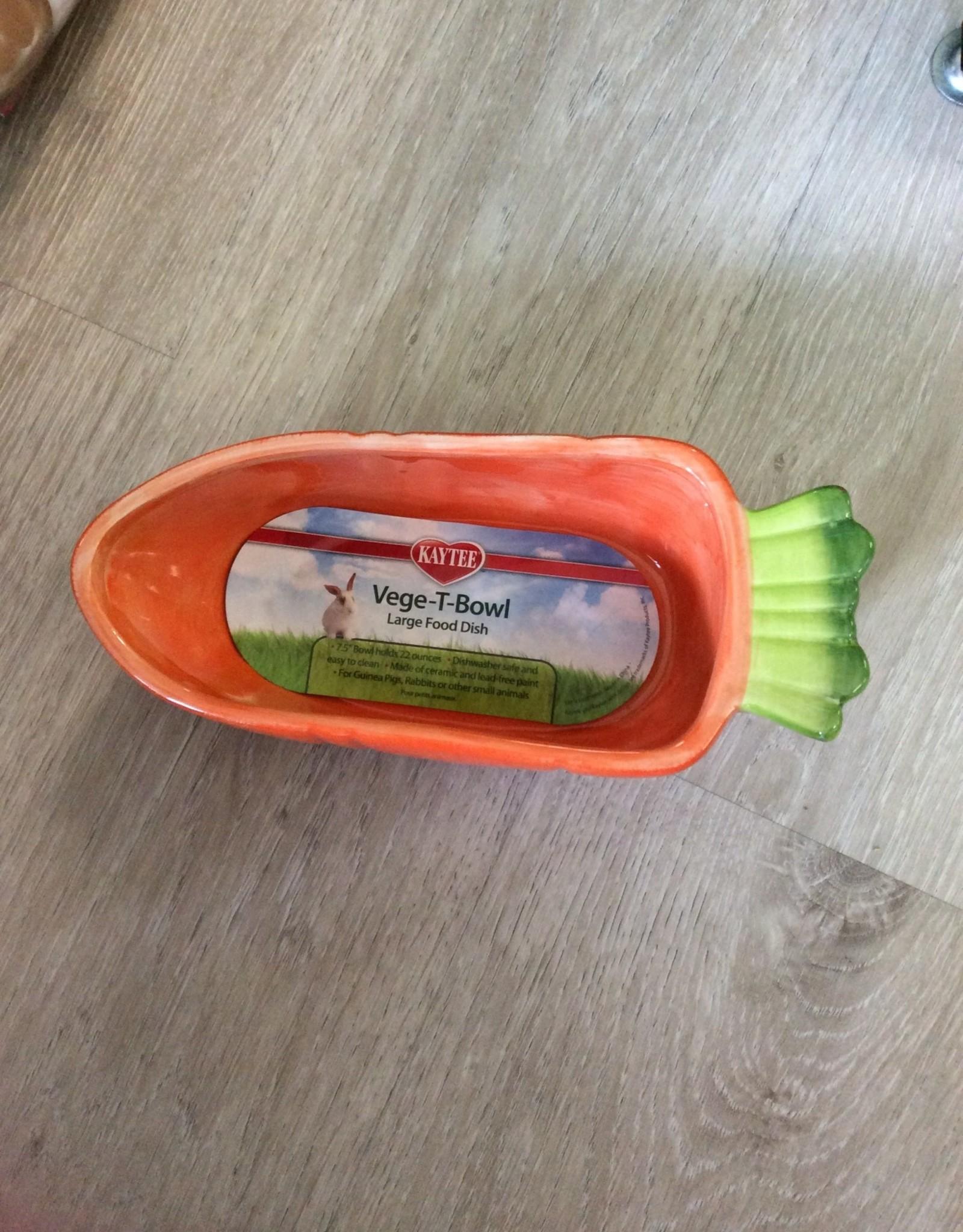 Super Pet Super Pet Carrot Vege-T-Bowl 22OZ