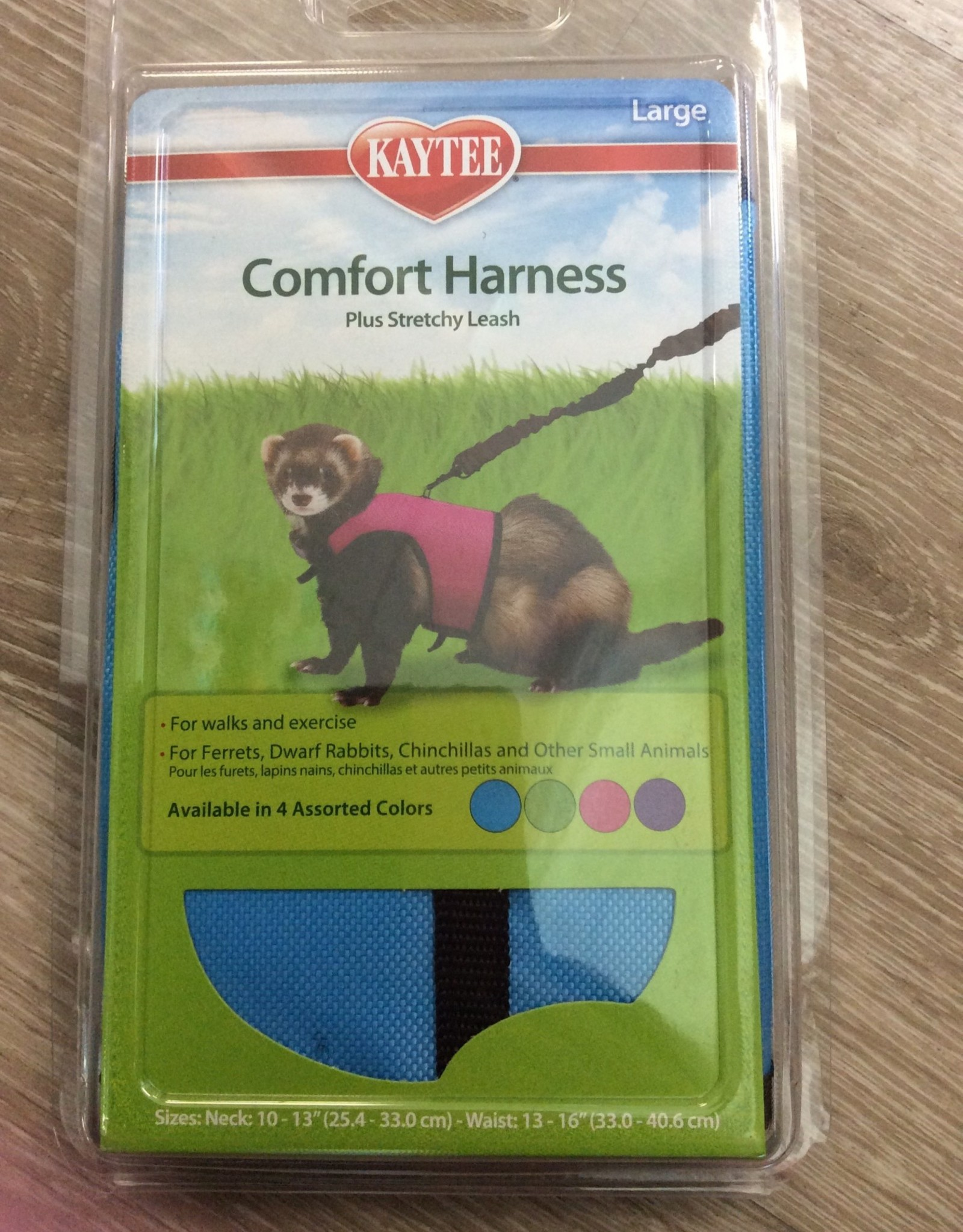 Kaytee Comfort Harness & Stretch Leash Large