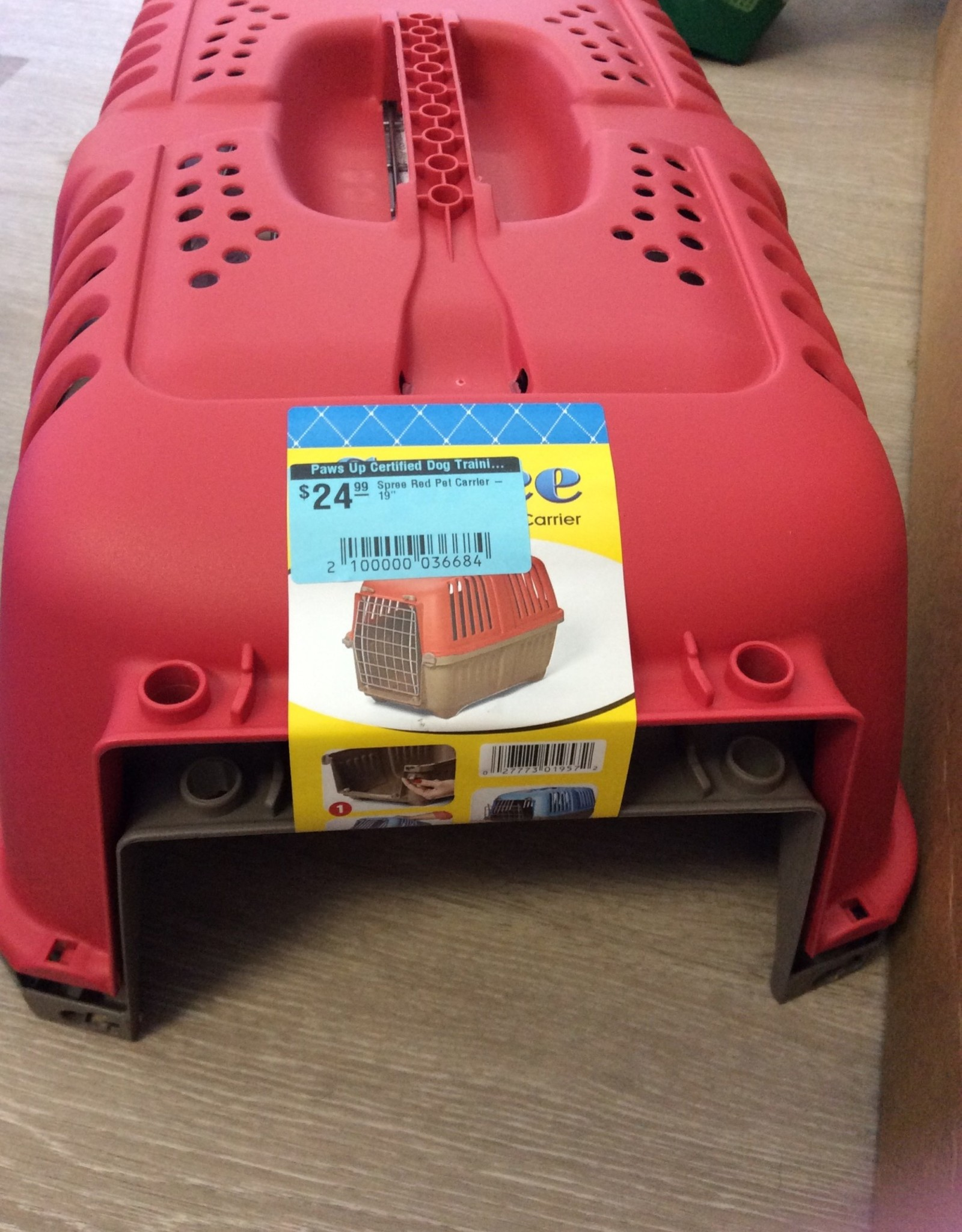 Spree Spree Red Pet Carrier - 19""