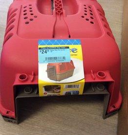 "Spree Spree Red Pet Carrier - 19"""