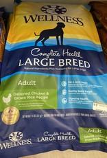 Wellness Complete Health Large BreedAdult- Chicken 15lbs