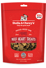 Stella & Chewys Freeze Dried Beef Heart 3oz