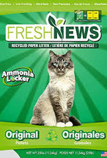 Fresh News Cat Litter - 25# Regular