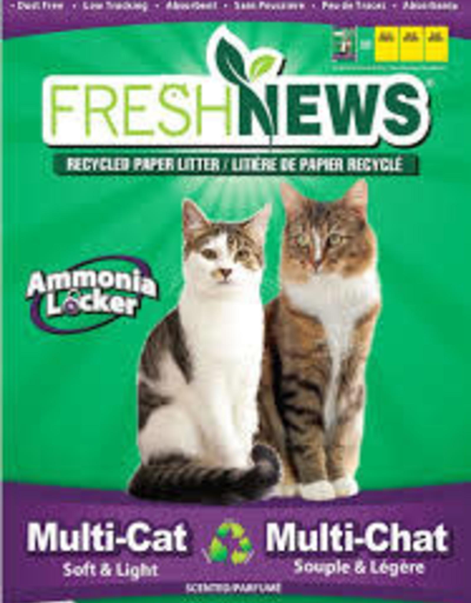 Fresh News Cat Litter - 14# MultiCat