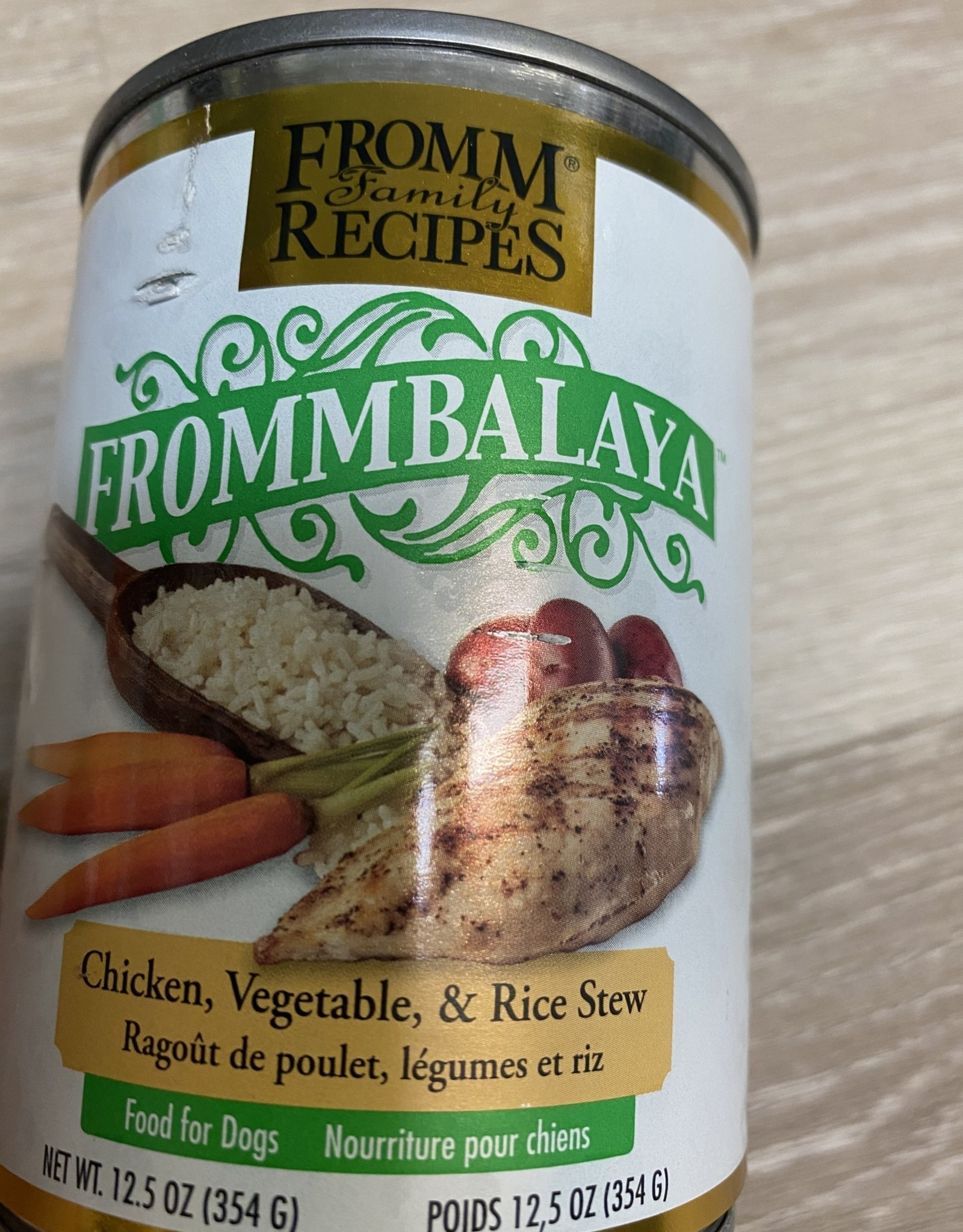 Fromm Frommbalaya Chicken & Rice 12.5oz