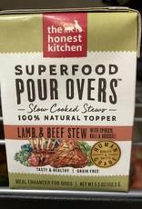 Honest Kitchen Pour Overs - Wet - Lamb & Beef Stew