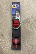 NiteIze NiteIze Nite Dawg LED Collar - Red Small