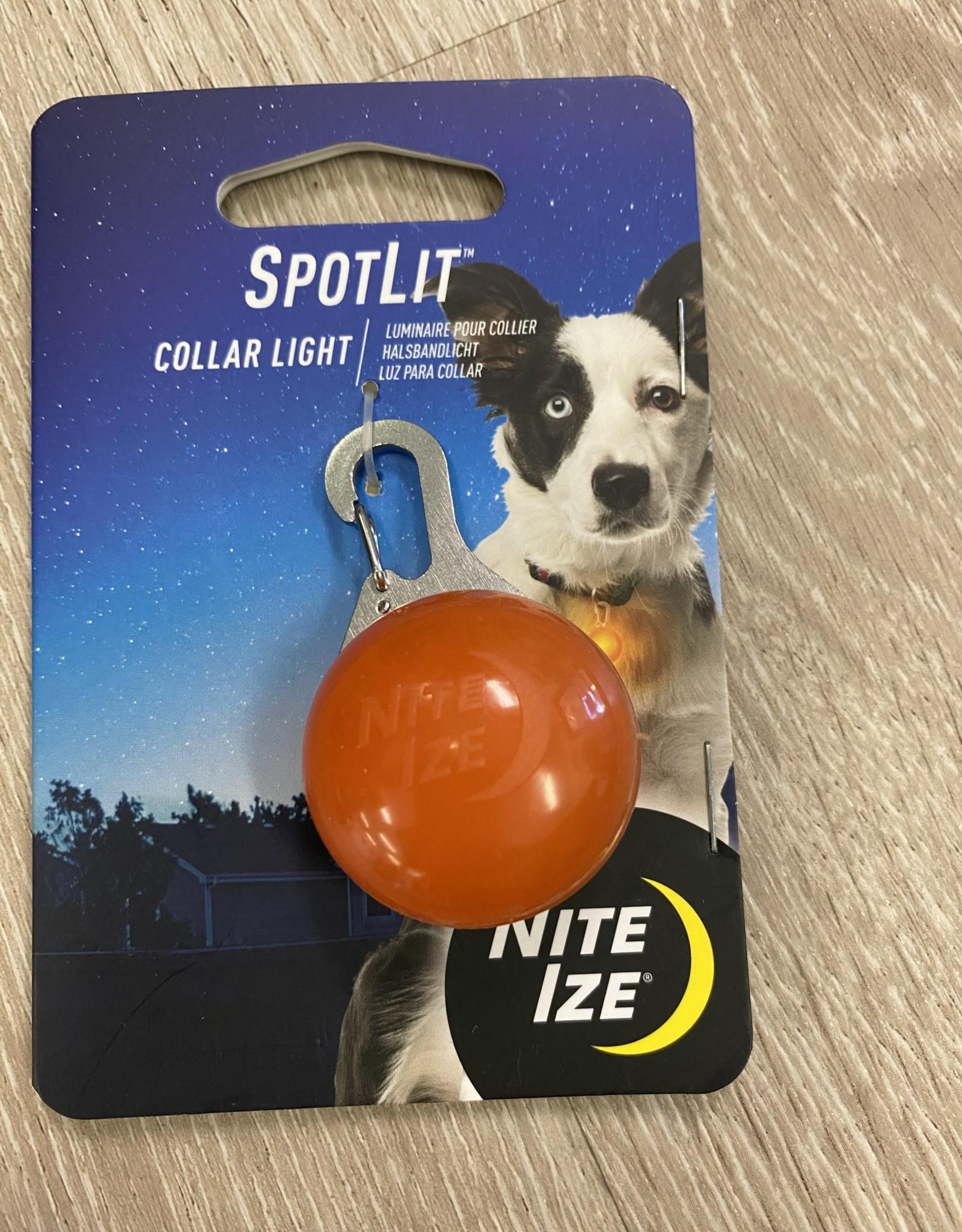 NiteIze NiteIze SpotLit LED Collar Light- Orange Plastic