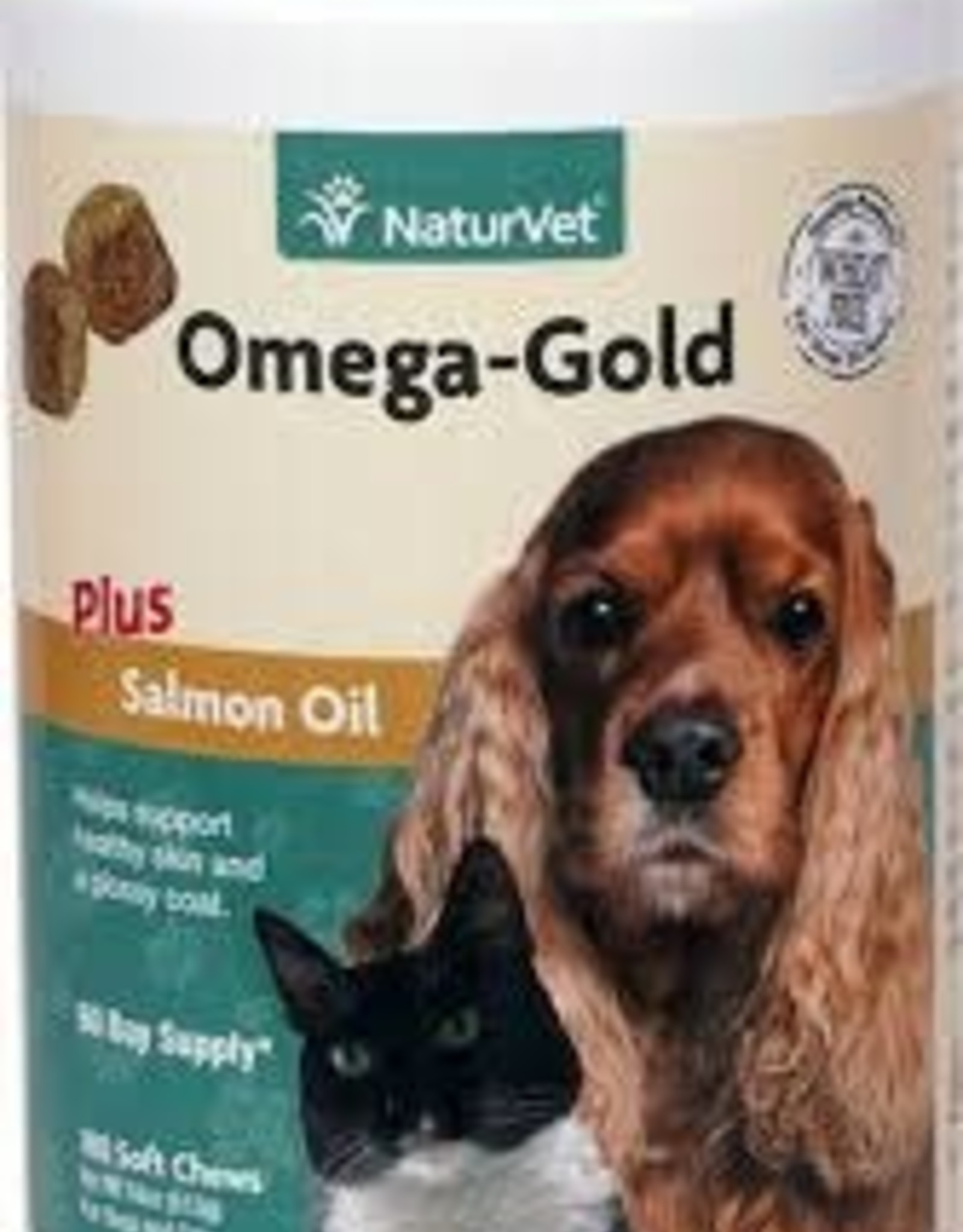 Naturvet Naturvet Omega Gold Soft Chews - 180 Count