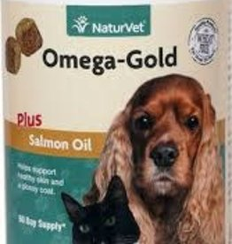 Naturvet Naturvet Omega Gold Soft Chews - 180 Count
