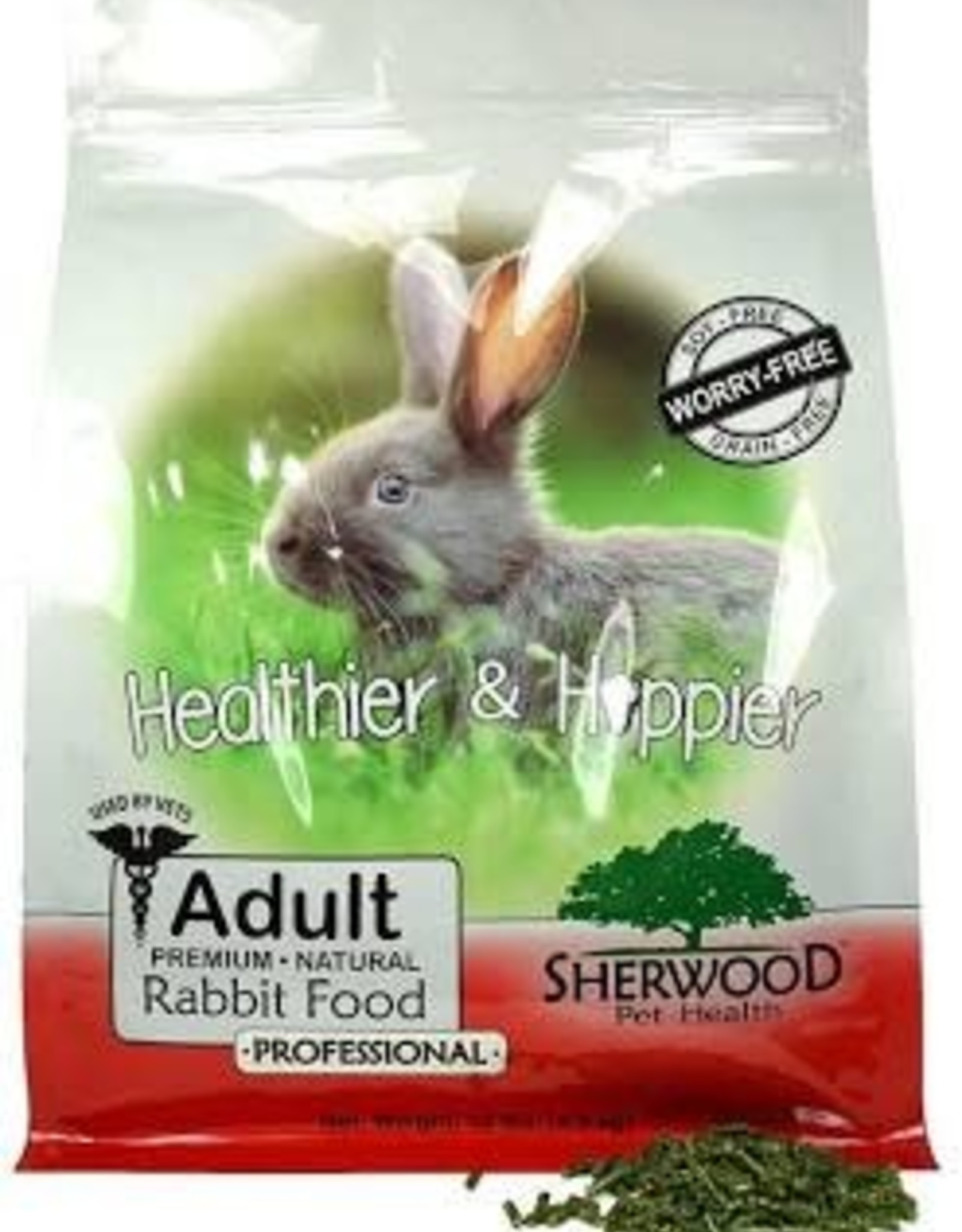 Sherwood Healthier & Hoppier Adult Rabbit Food