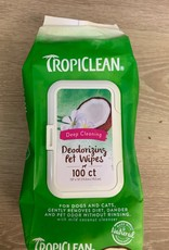 Tropiclean Coconut Deodorizing Wipes