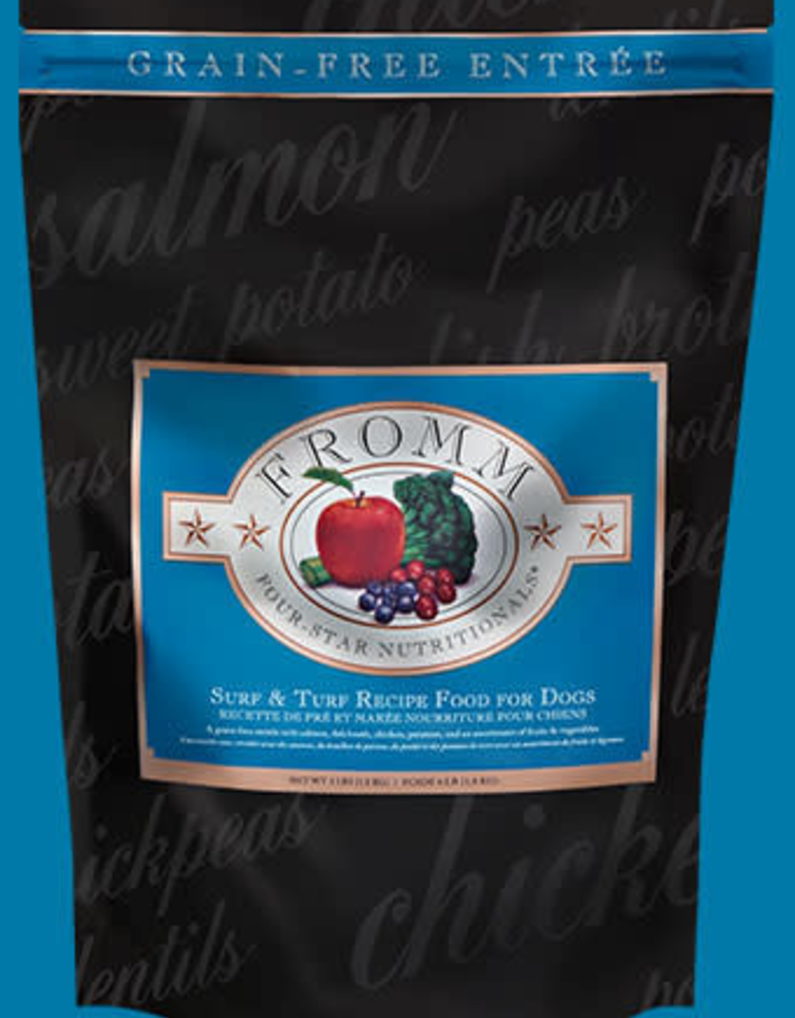 Fromm Four Star GF Dog Food Dry 26 lb Surf & Turf