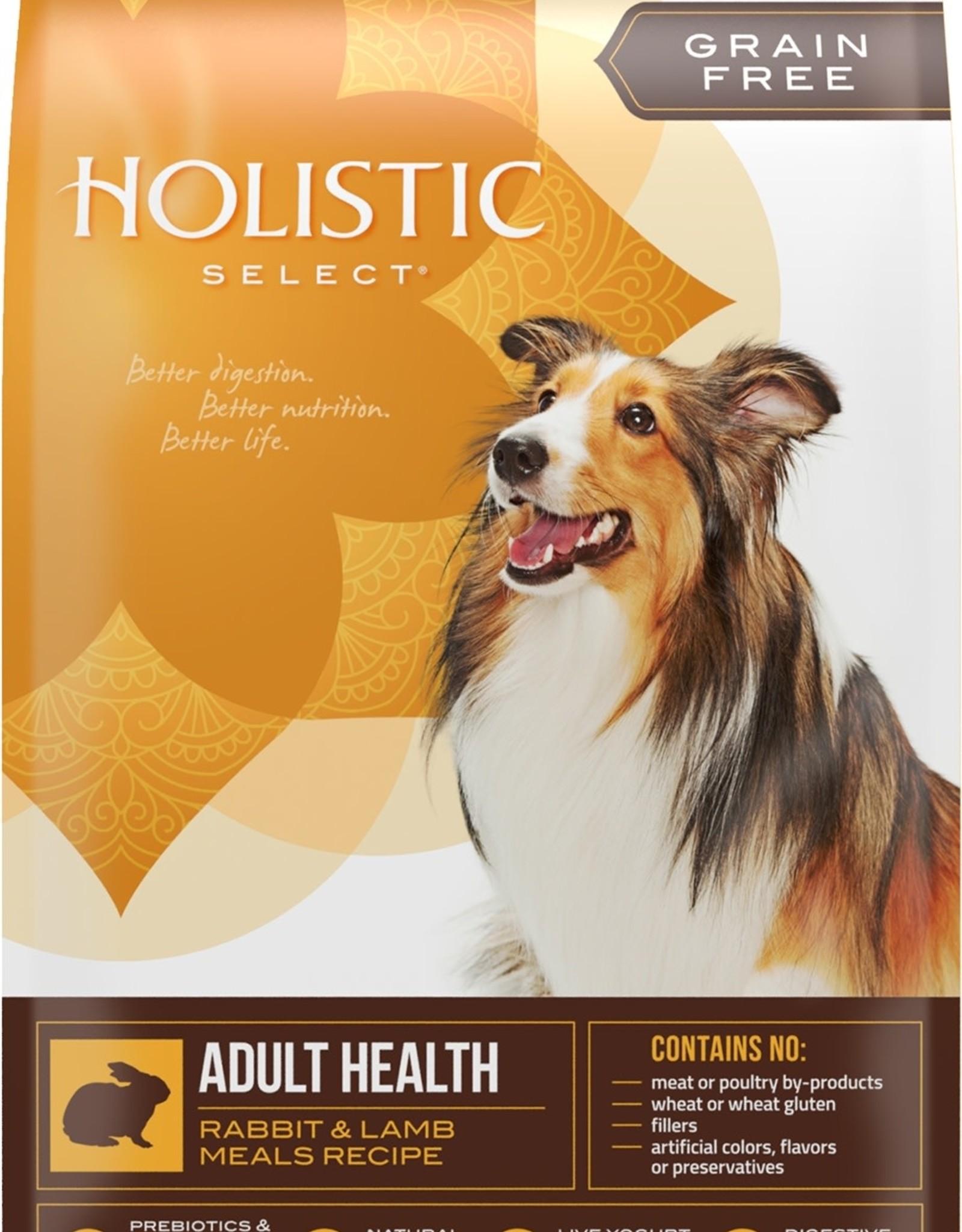 Holistic Select Dog Food 24lb Grain Free Rabbit & Lamb
