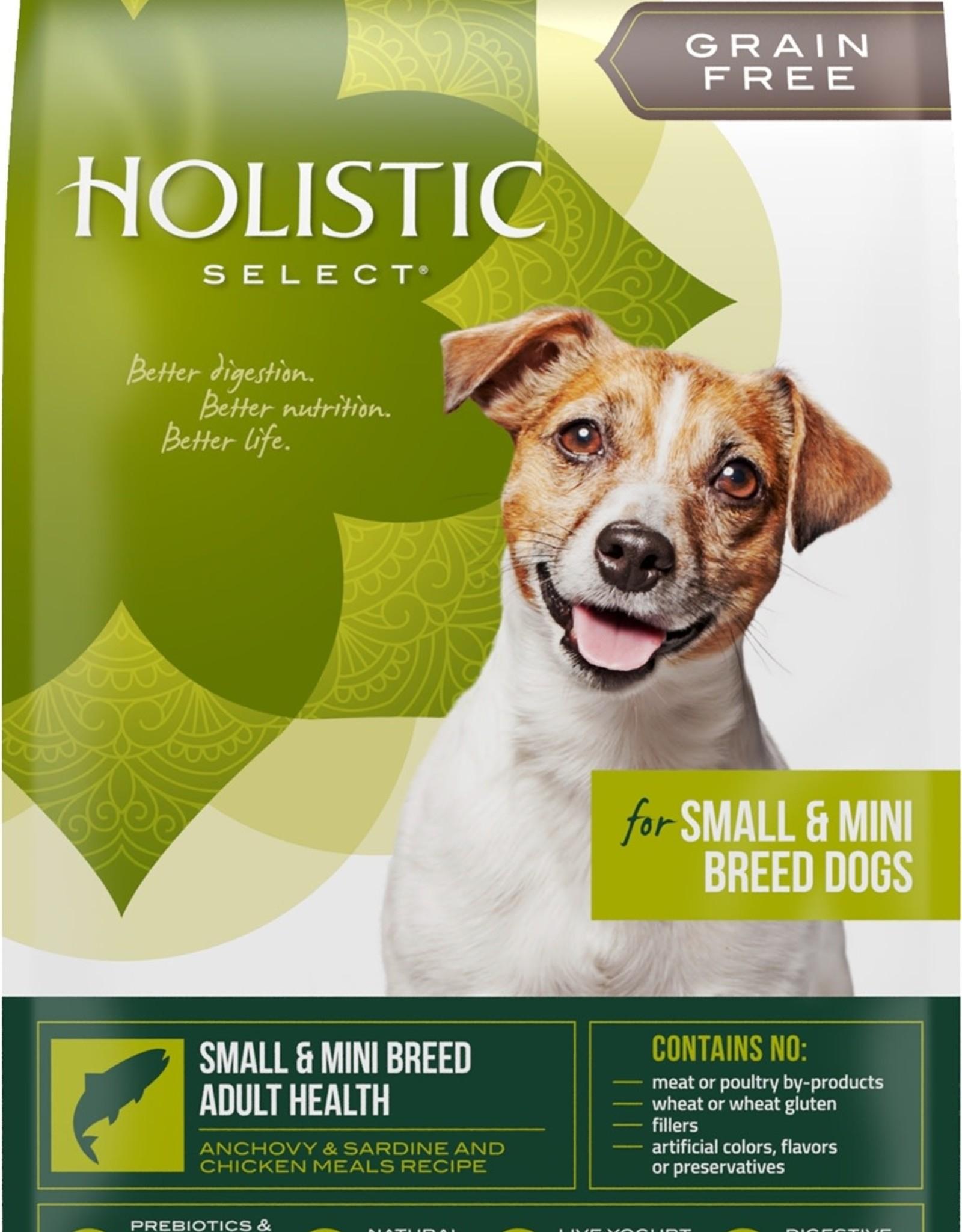 Holistic Select Dog Food 4lb Grain Free Anchovy & Sardine Sm Breed