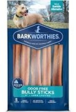 Barkworthies Bully Sticks 6 Inch packaged