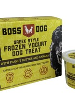 Boss Dog Greek Yogurt Peanut Butter & Banana 4 Pack