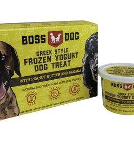 Boss Dog Greek Yogurt Peanut Butter & Banana 4 Pack