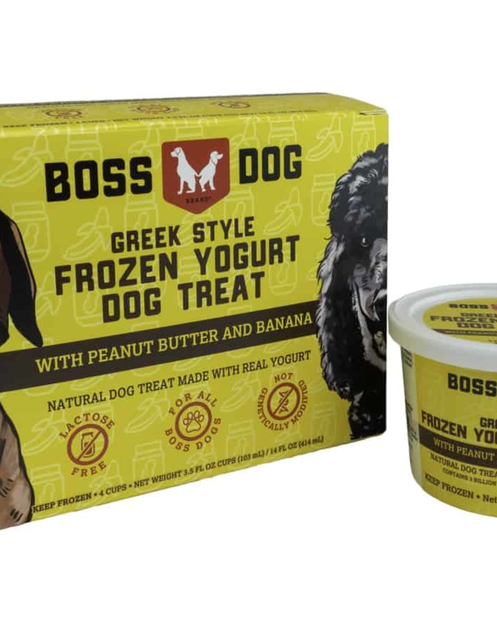 Boss Dog Greek Yogurt Peanut Butter & Banana Individual