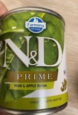 Farmina N&D Prime Boar & Apple 10oz Can