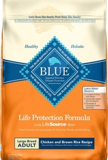 Blue Buffalo Life Protection Dog Food 30 lbs Large Breed Chicken & Brown Rice