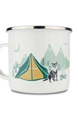 Grounds & Hounds Camping Tin Mug