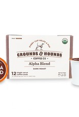 Grounds & Hounds Coffee K-Cups Alpha Blend