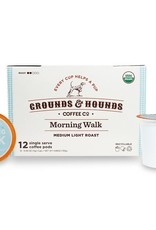 Grounds & Hounds Coffee K-Cups Morning Walk