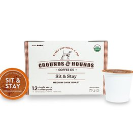 Grounds & Hounds Coffee K-Cups Sit & Stay