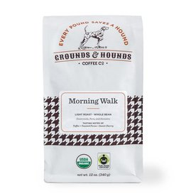 Grounds & Hounds Ground Coffee Morning Walk