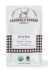 Grounds & Hounds Ground Coffee Sit & Stay
