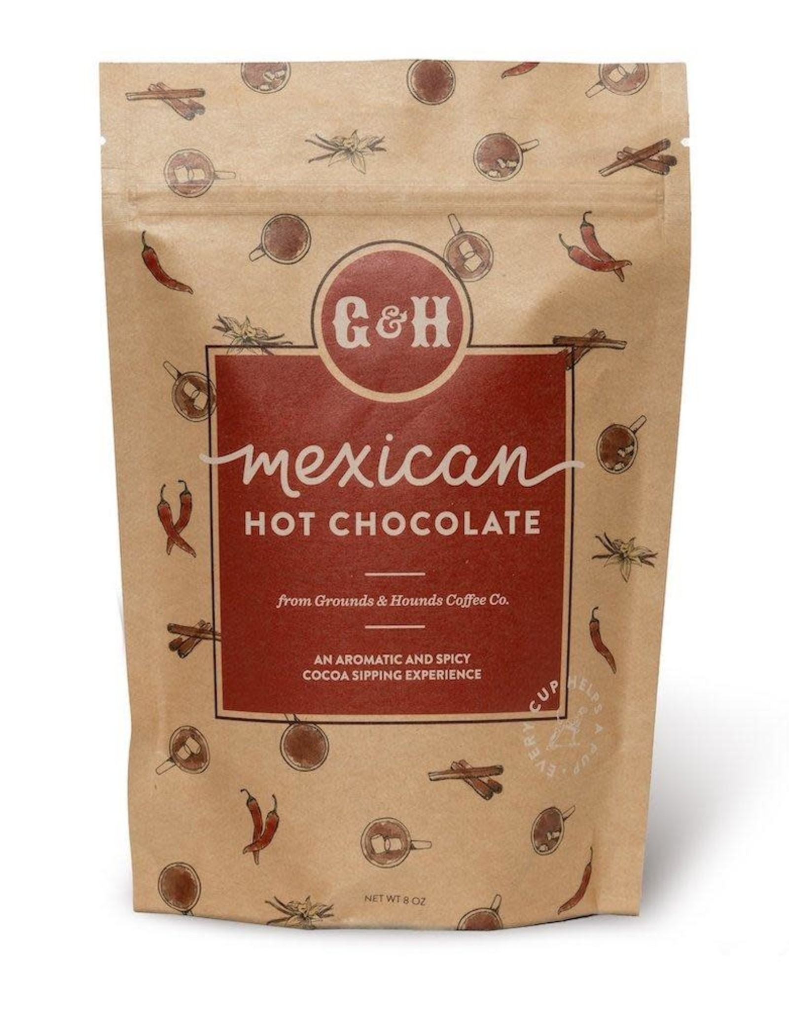 Grounds & Hounds Hot Chocolate Mexican