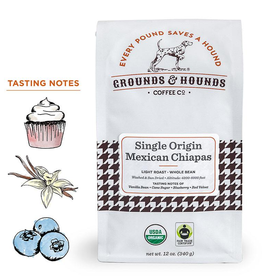 Grounds & Hounds Whole Bean Coffee Mexican