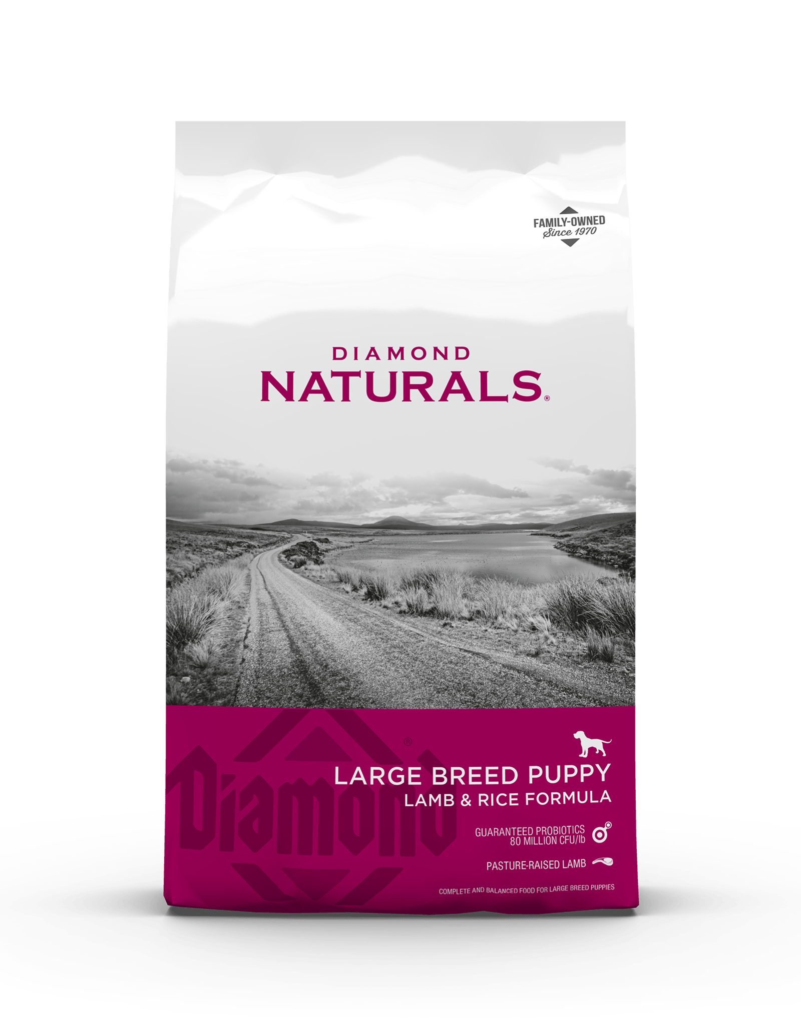 Diamond Naturals Large Breed Puppy Lamb Dry Dog Food 40LB