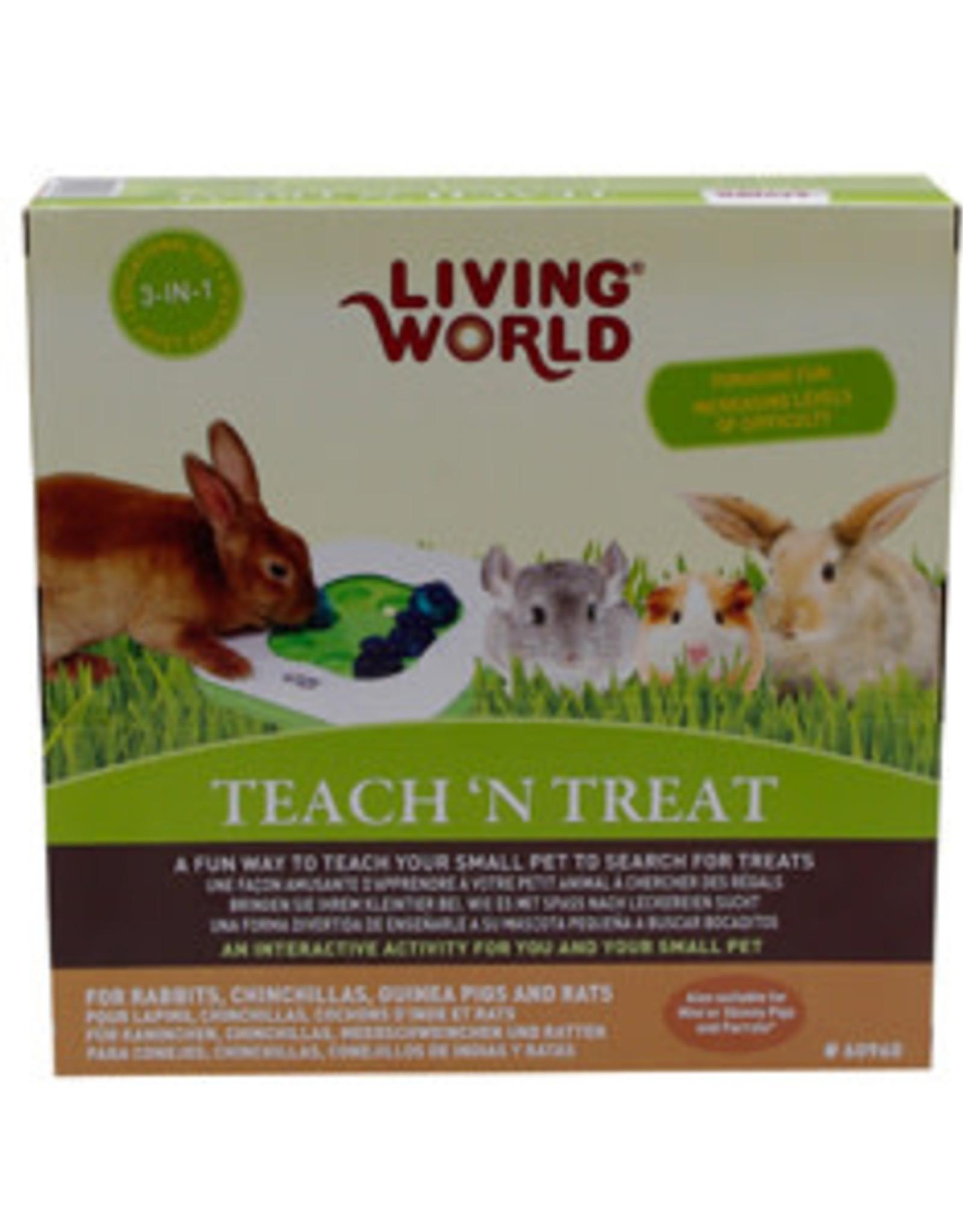 Living World Teach N Treat Toy