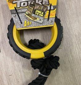 Tonka Mega Tread Rope Tug 15in