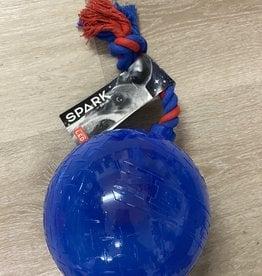 Zeus Spark Tug Ball- Large Blue