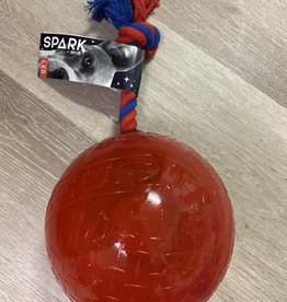 Zeus Spark Tug Ball-Large Red