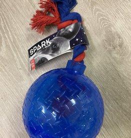 Zeus Spark Tug Ball-Small Blue