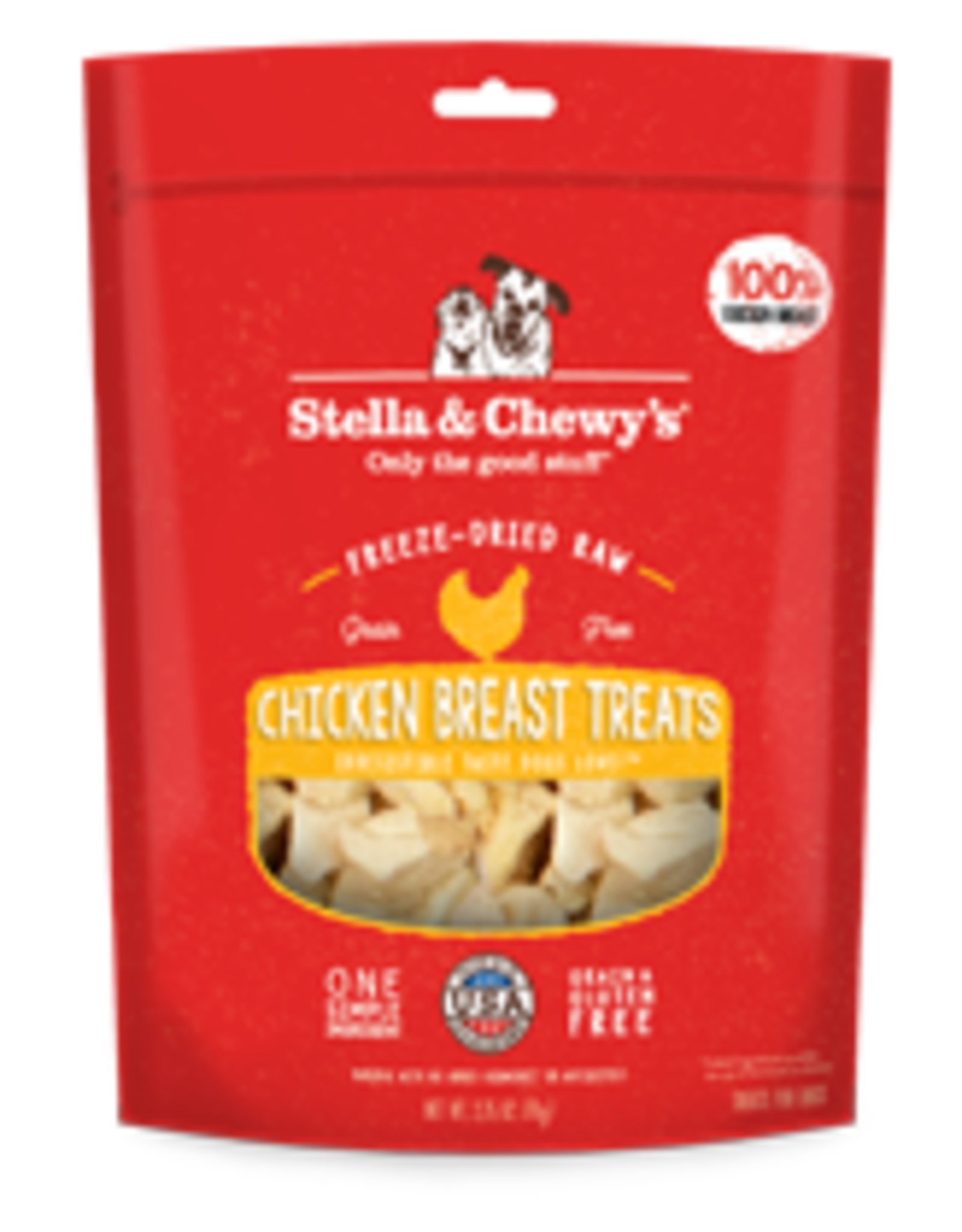 Stella & Chewys Freeze Dried Chicken Breast 2.75oz