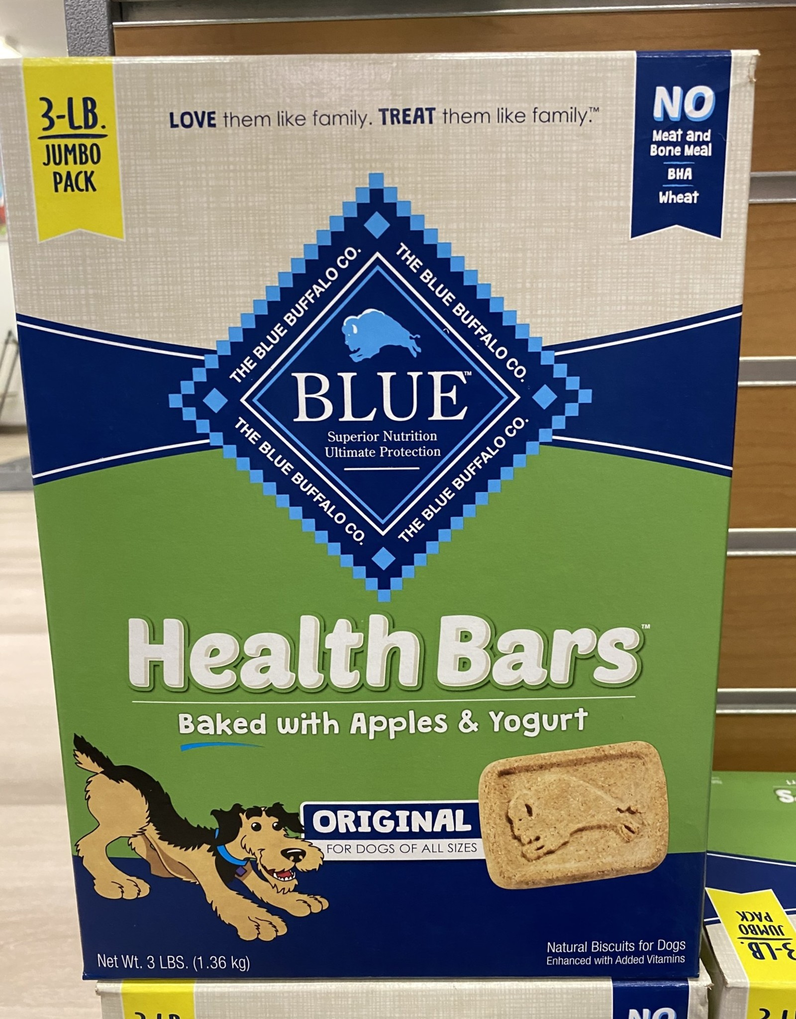 Blue Buffalo Apple Yogurt Biscuits Box