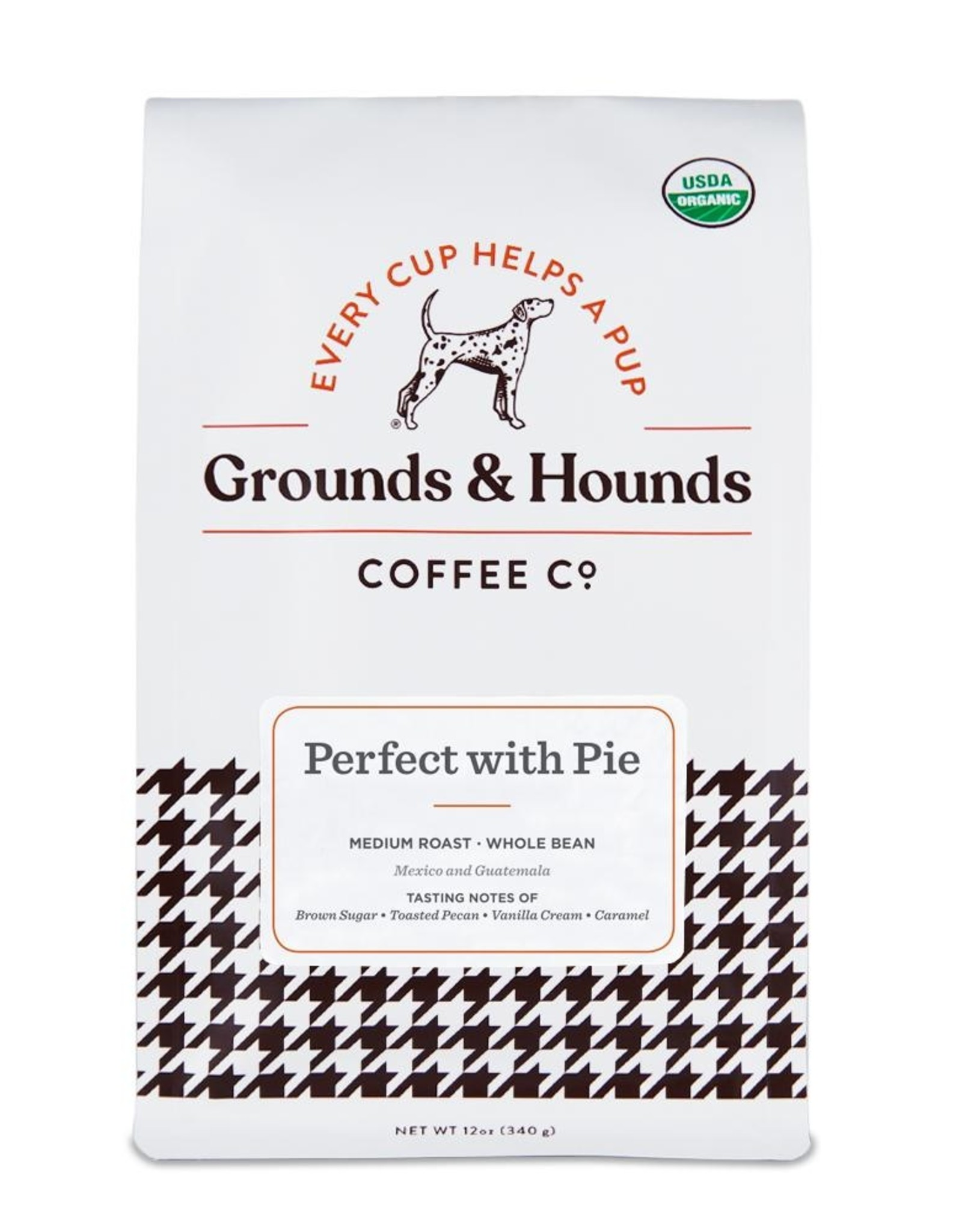 Grounds & Hounds Ground Coffee Perfect with Pie