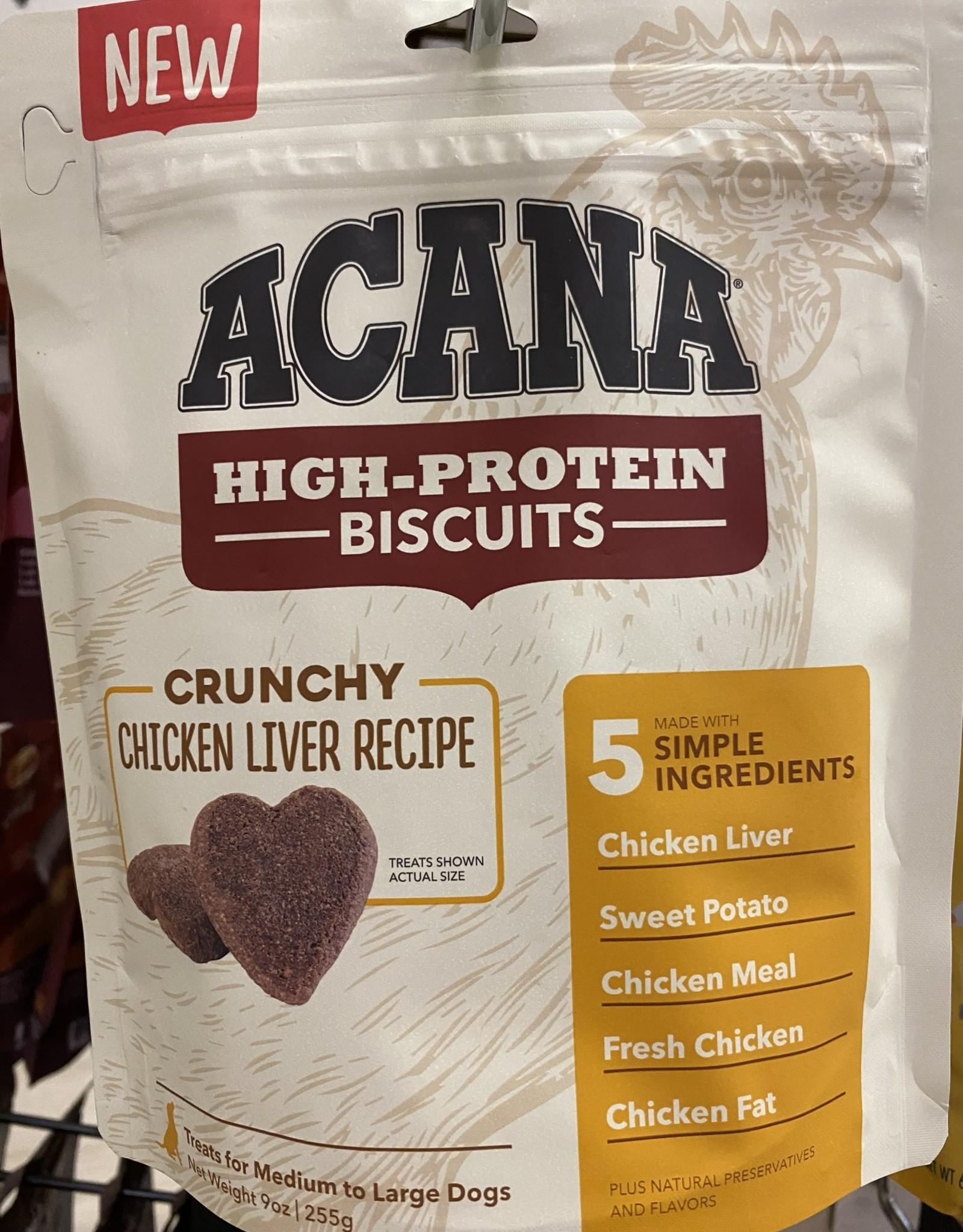 Acana Chicken Liver Biscuits 9oz