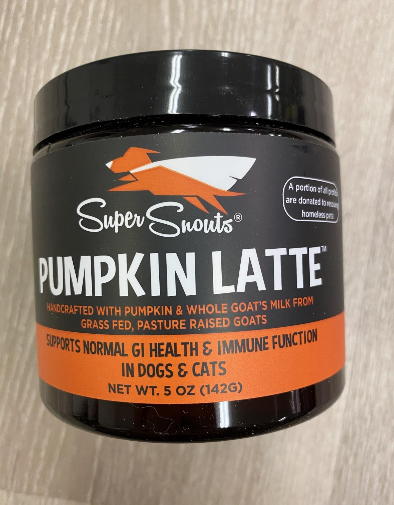 Super Snouts Pumpkin Latte 5oz