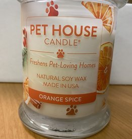 One Fur All Pets Orange Spice Soy Wax Candle 8.5 oz