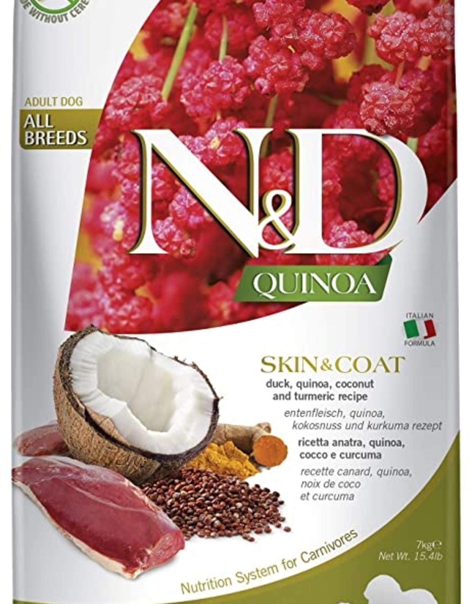 Farmina Quinoa -Skin&Coat Venison 15.4LB