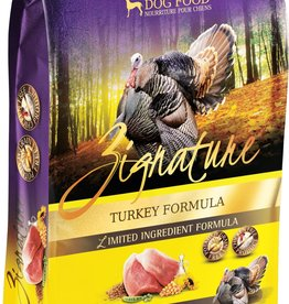 Zignature Turkey Dog Food 25 lbs