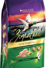 Zignature Duck Dog Food 25lb