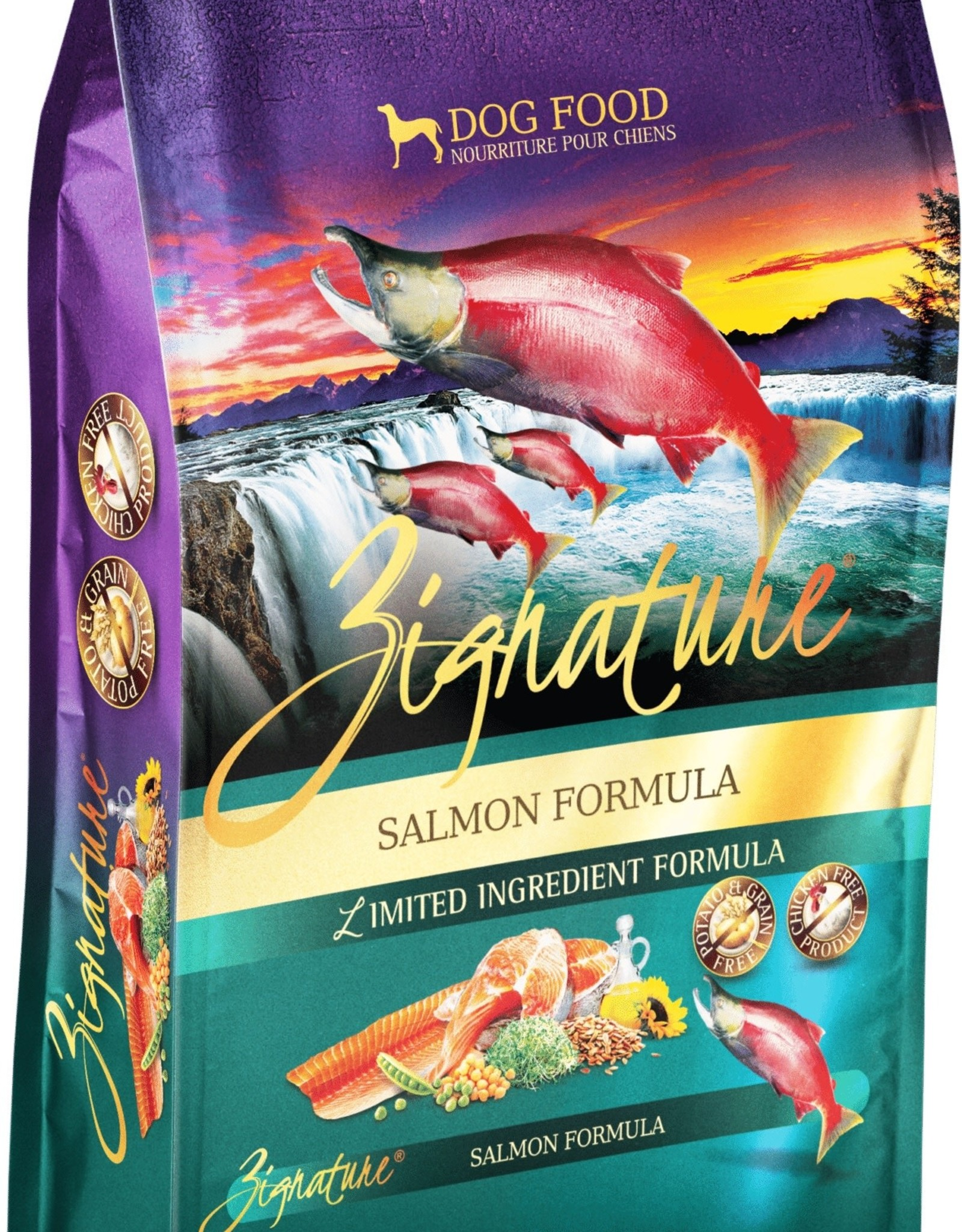 Zignature Salmon Dog Food 25lb
